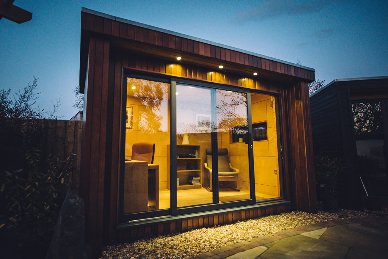 Garden office pods northern ireland garden ftempo for Office design northern ireland